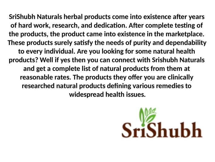 Online beauty and health products