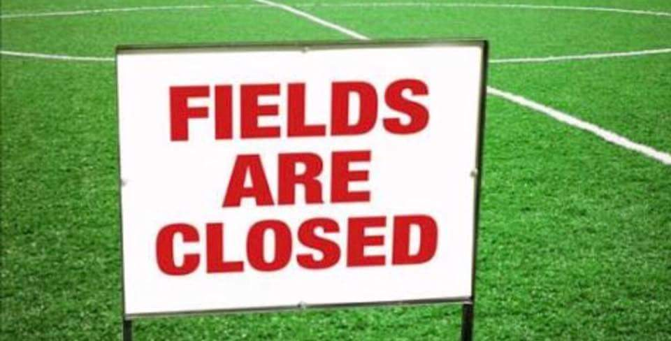 Grounds are still closed