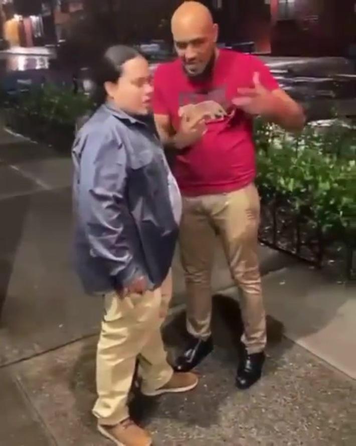Fight on the block