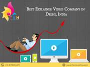 Best explainer video Production Company in delhi, India|explainer filmmakers