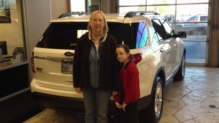The Byard's Drove Past Their Local Dealer In Hutchinson KS To Buy A Ford Explorer At Long McArthur!!