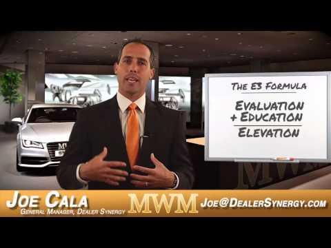 "Mid-Week Motivations with Joe Cala - ""The E3 Formula"" - Automotive Sales - Car Sales"