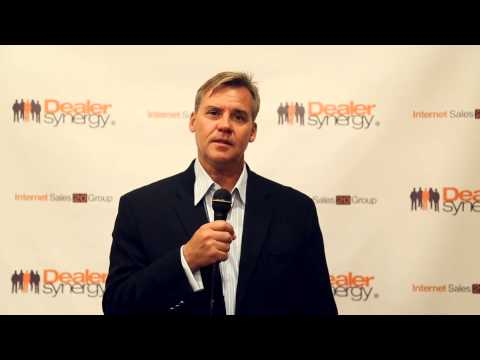 Ken Lees of Automark Solutions At The Internet Sales 20 Group in Los Angeles, Ca