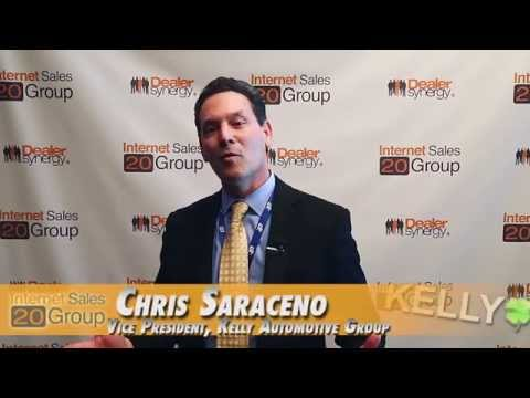 VP of Kelly Auto Group, Chris Saraceno Reviews the Internet Sales 20 Group - Atlantic City, NJ