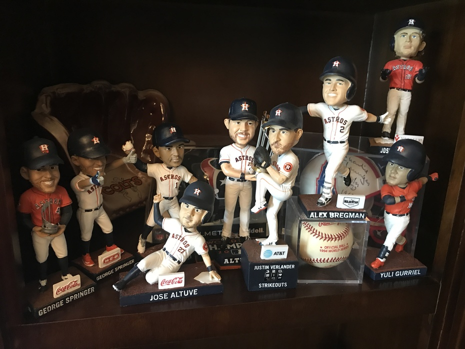 Astros 2019 Bobbleheads