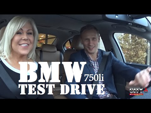 VIDEO TEST DRIVE 2012 BMW 750Li at City Mitsubishi | Queens New York | Brooklyn Long Island City
