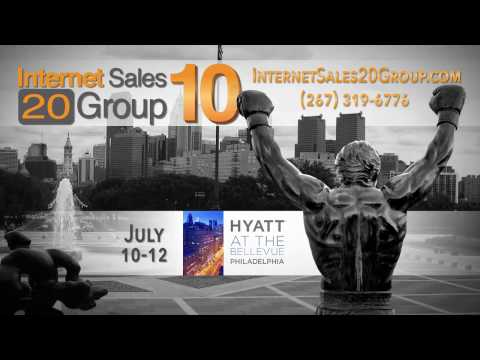 Internet Sales 20 Group 10 is Coming to Philadelphia, PA - July 10-12, 2017