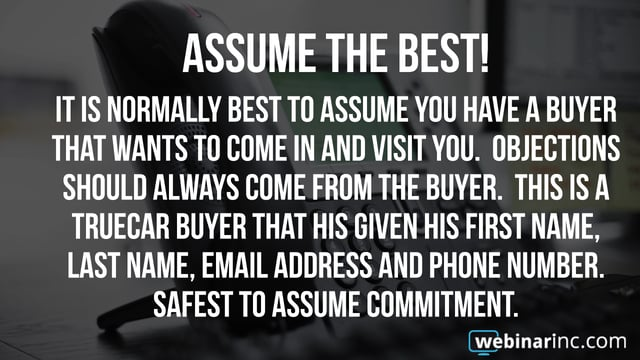 Tip of the Week - Engagement with Cold Buyers