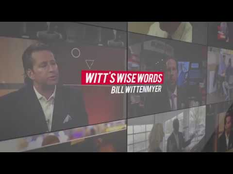 Witt's Wise Words: Don't Become A Headline