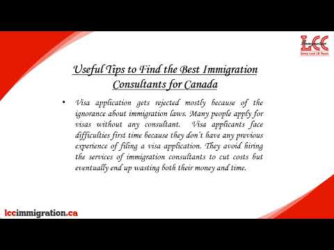 Important tips to find the Best Canadian Visa Consultants