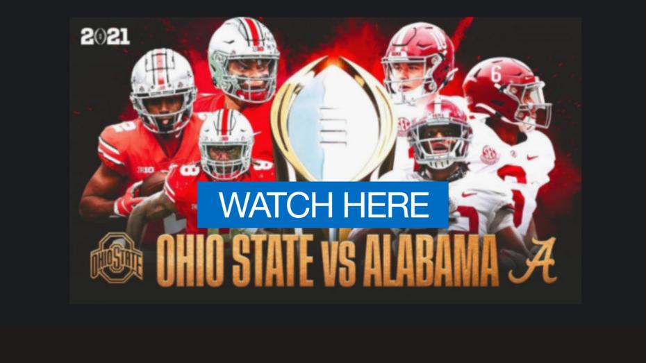 Live!! Alabama vs. Ohio State,(Live'STREAM)#FrEE