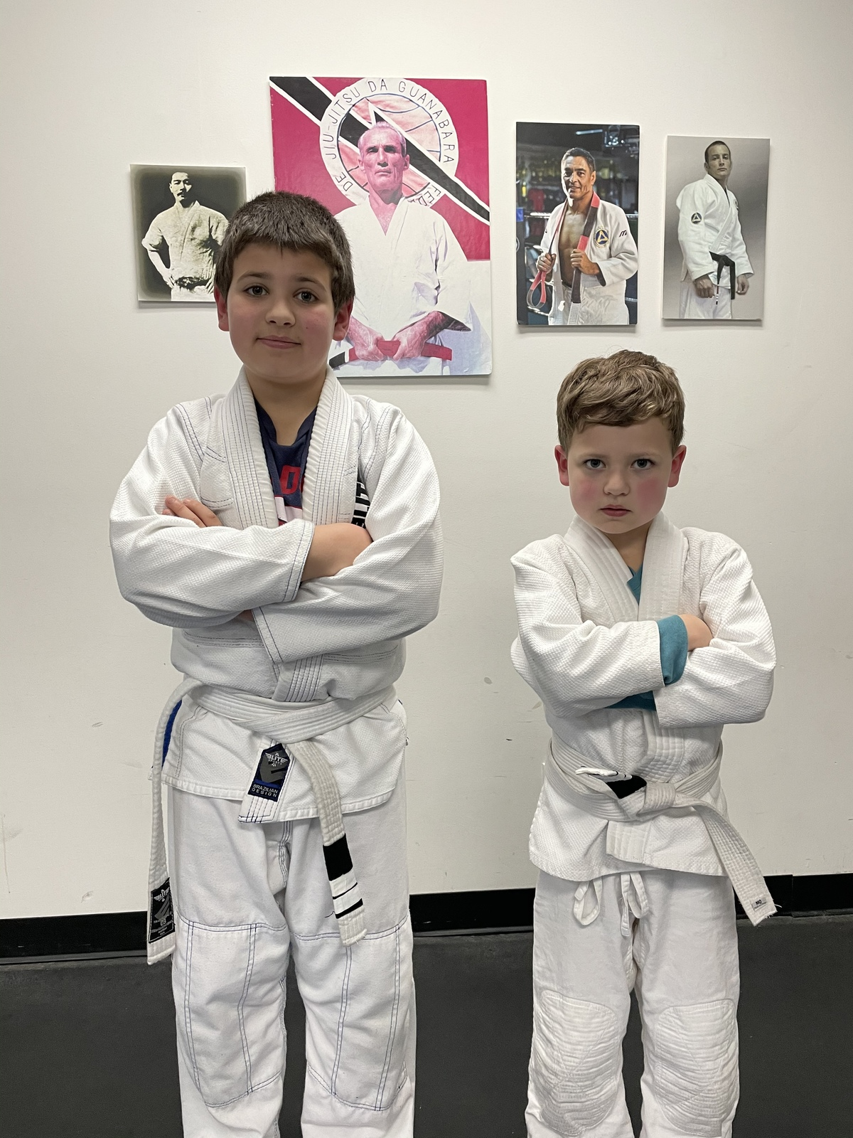 Ezra and Ethan get their 2nd stripe!