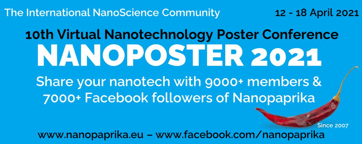 NANOPOSTER 2021 - 10th Virtual Nanotechnology Conference
