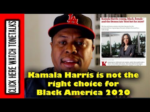 Kamala Harris is not the right Presidential choice for Black America 2020