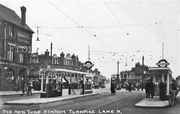 Turnpike Lane (looking east towards Westbury Avenue) c1932