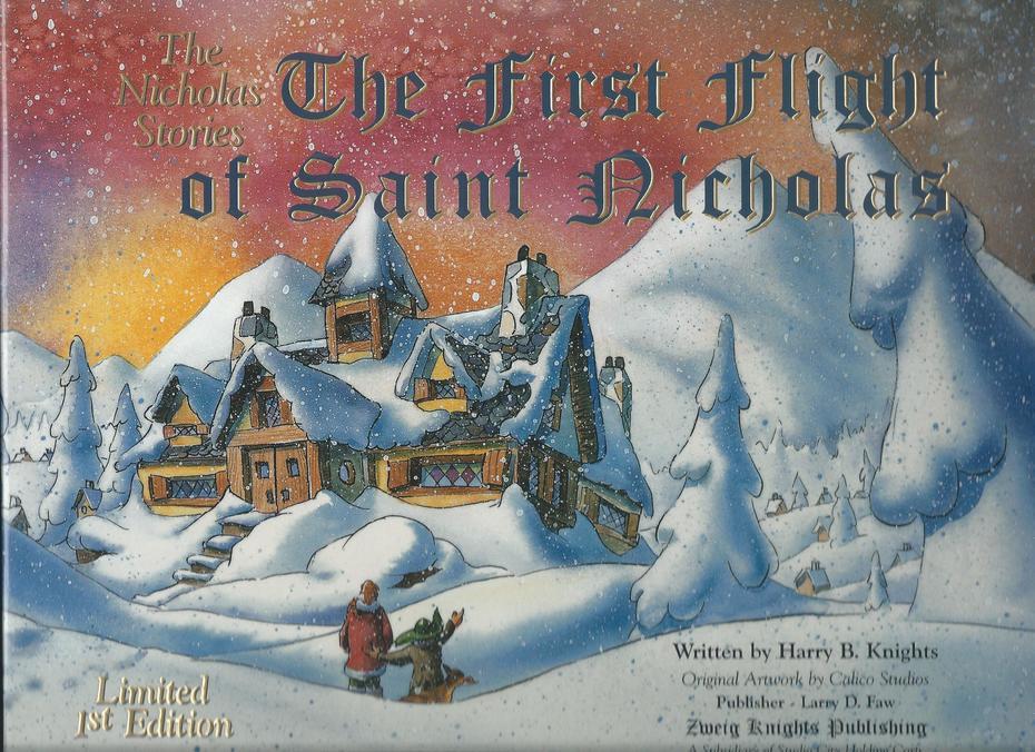 The First Flight of St. Nicholas.