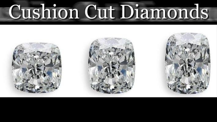 Cushion Cut Diamonds