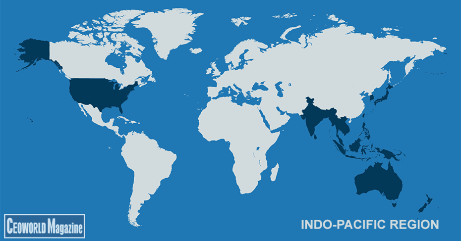 Indo?-Pacific Region. wtf Where's China gone?