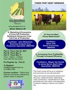 3 Part Beef Webinar: Marketing, Prices & Profitability