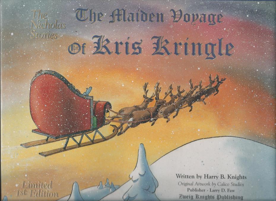 The Maiden Voyage of Kris Kringle, received Jan. 25, 2021.