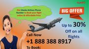 To Book Airlines Tickets at Alaska Airlines Phone Number +1 888 388 8917