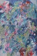Das große Frühlingsrauschen I 2018 Acryl auf Leinwand 120x80