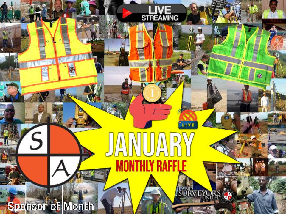 Last Call for January Raffle Tickets - WIN WIN WIN!