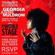 National Day of Racial Healing GEORGIA ANNE MULDROW TRH&T/LA @ TWS Th Jan 24th 8PM ~