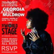 National Day of Racial Healing GEORGIA ANNE MULDROW TRH&T/LA @ TWS Th Jan 24th 8PM ~