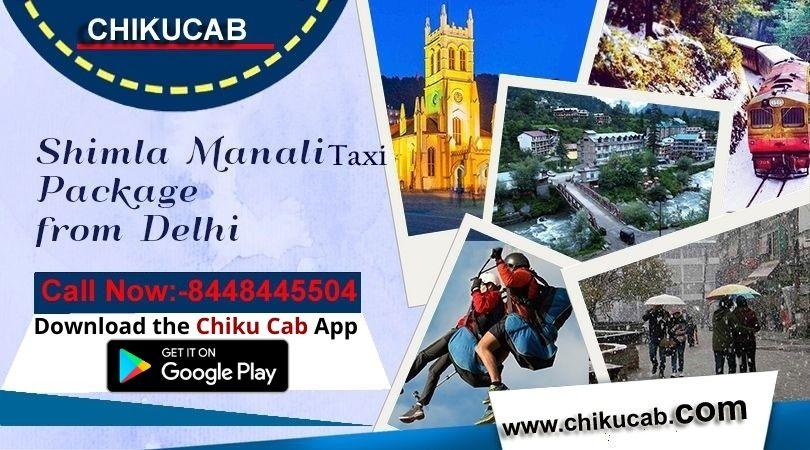 Book Delhi to Shimla Car Booking from Chiku cab