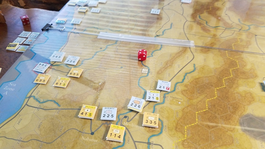 Forgotten Heroes Turn 4 Drive on Damascus