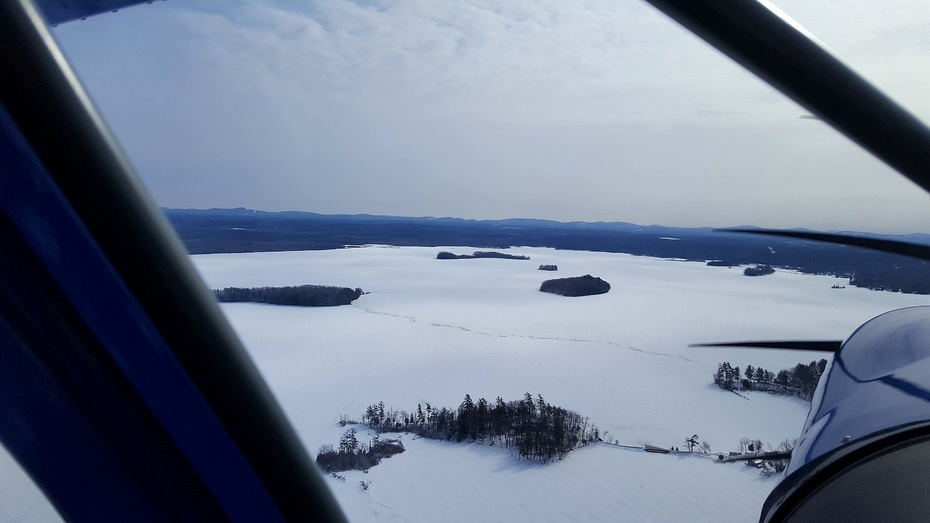 Winter flying...