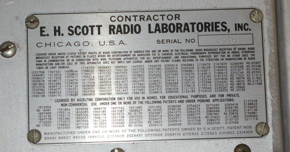 contractor's plate