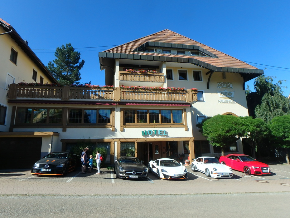 June 2019 Super Car Weekend in the Black Forest/Germany