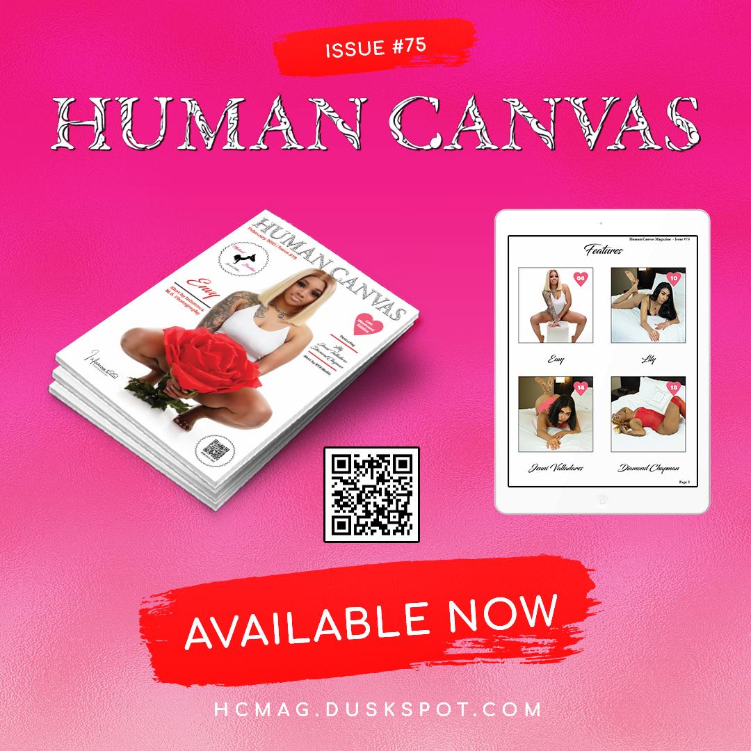 Human Canvas Magazine - Issue #75