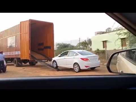 APL India Packers and Movers Car Shifting in Car Carrier