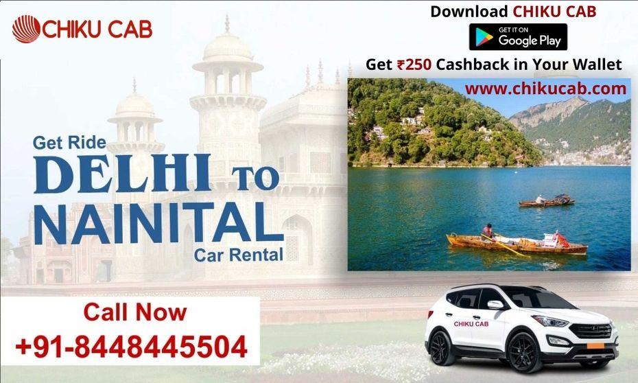 Hire Delhi to Nainital Taxi Service from Chiku Cab
