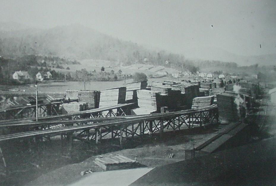 Townsend lumber yard