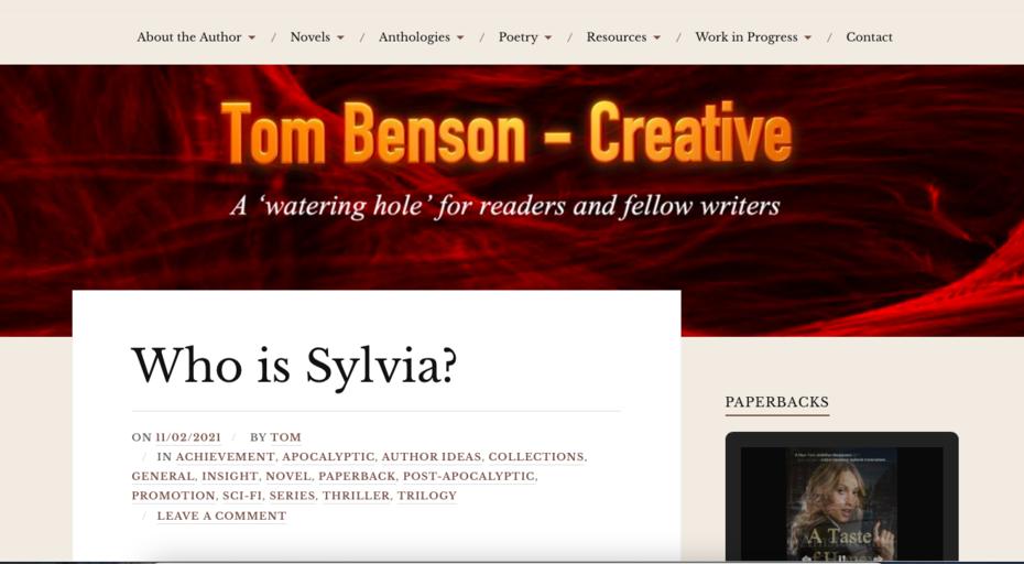 Tom Benson - Creative
