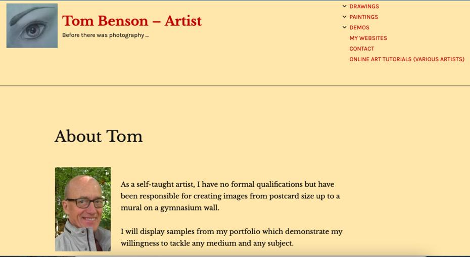 Tom Benson - Artist