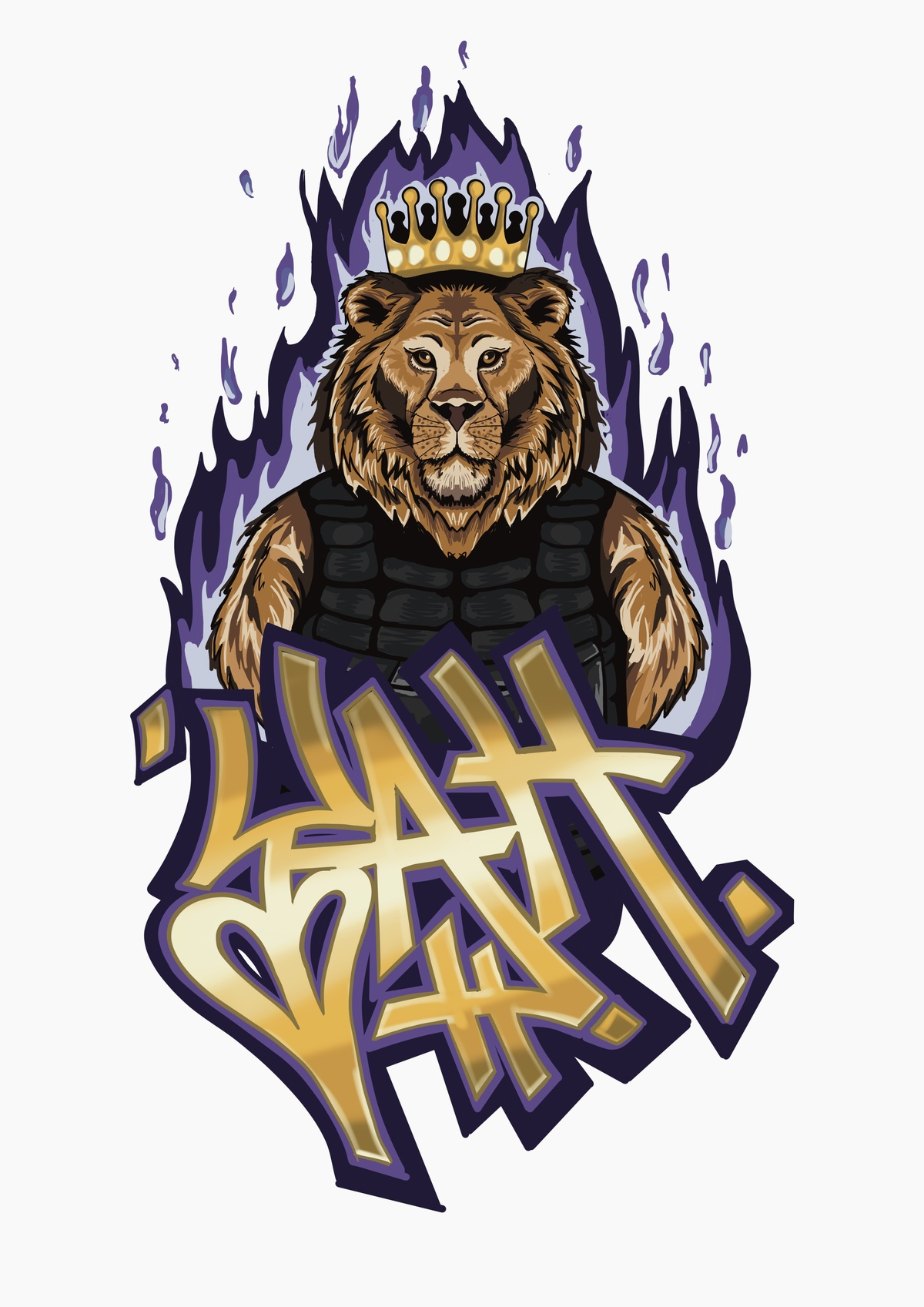 Y.A.H. Apparel Chronicles: The The Story Behind The Y.A.H. Lion Graffiti Piece