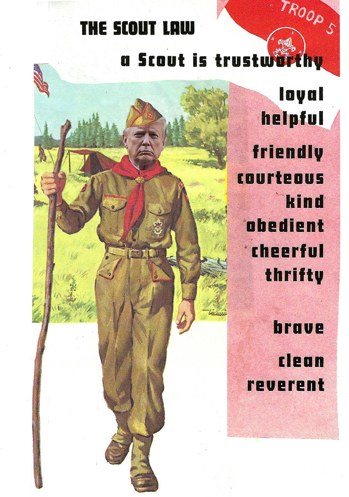 Trump Boy Sout (NOT)