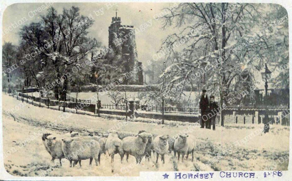 Hornsey High Street, c1886