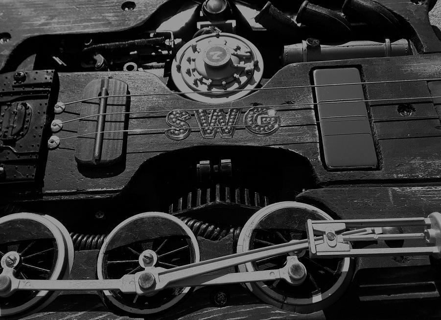 Swamp witch guitar railpunk 5