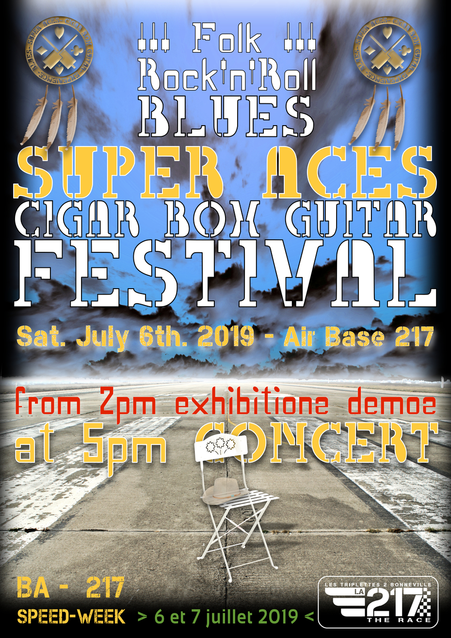 Blues Super Aces Cigar Box Guitar Festival