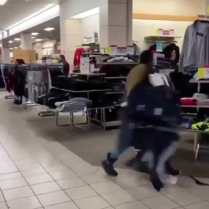 Shoplifters at JC Penny