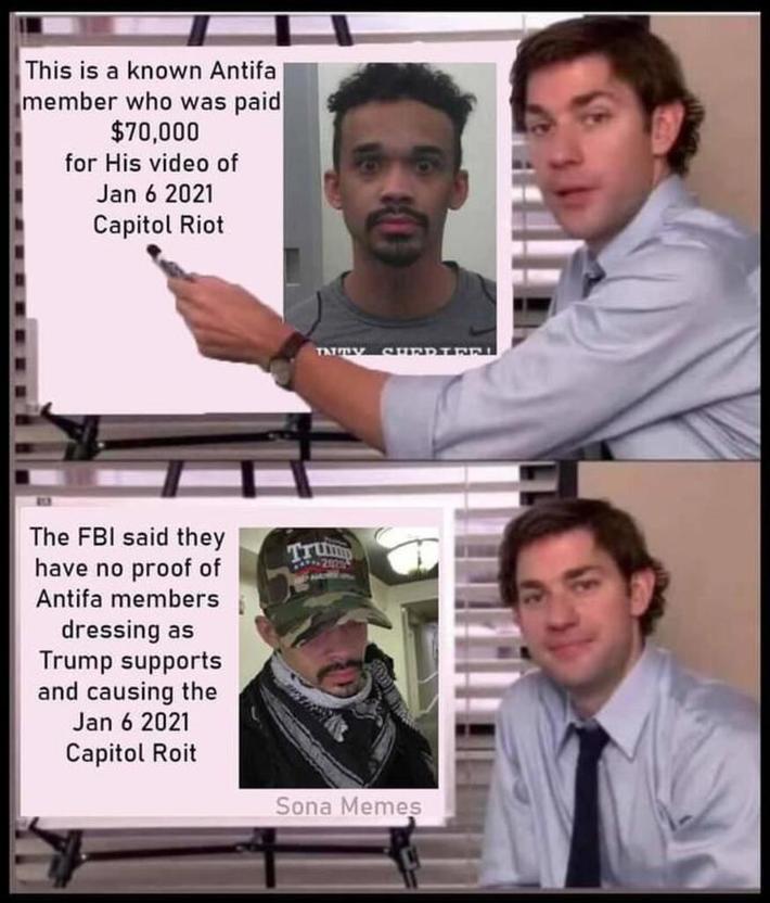 FBI No Proof of Antifa Trump Spooks at Capital