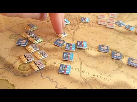 Battle of Gettysburg [Battle #2 - Report A] [1 July - Turns 1-14] - Battle Hymn
