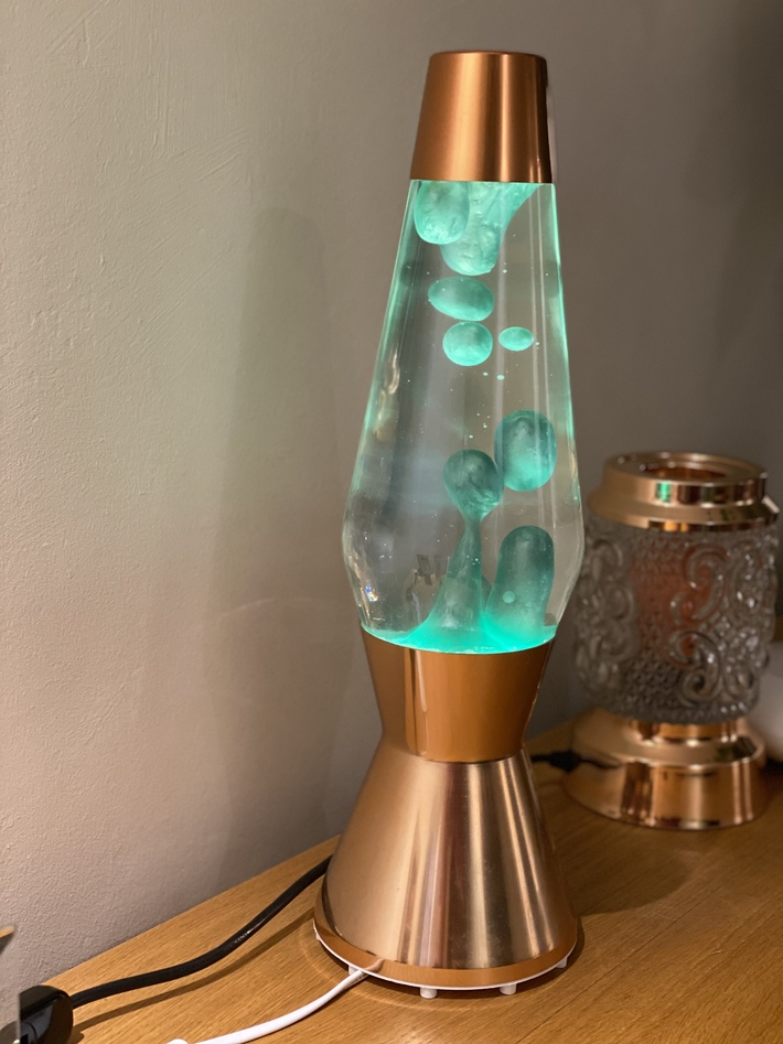 Green metallic Astro bottle