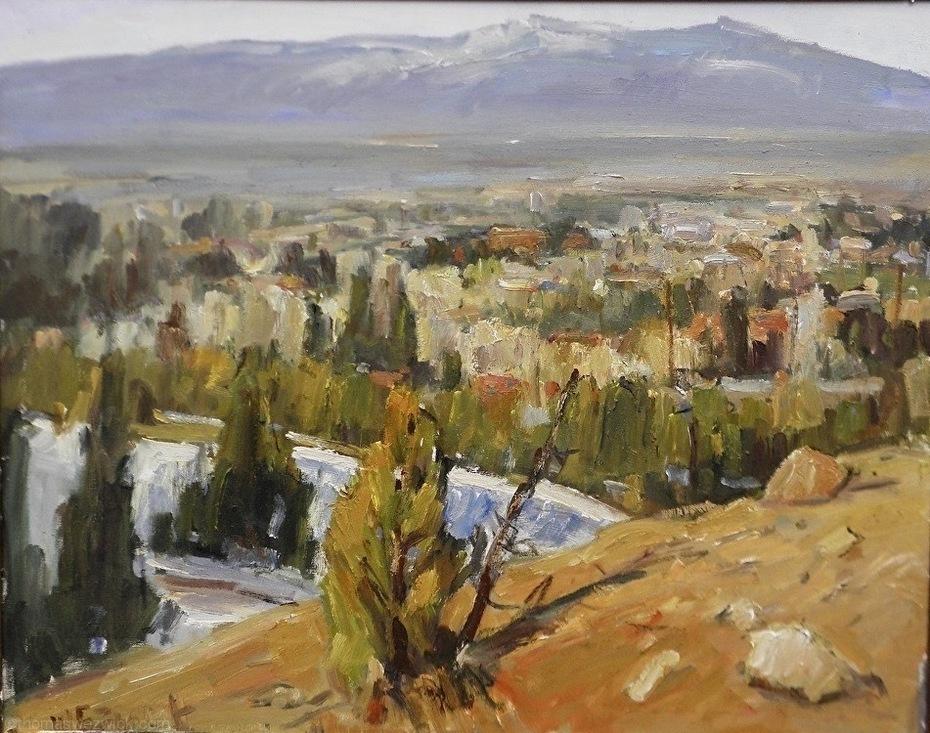 View of Santa Fe  24x36